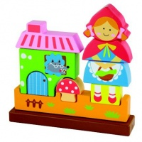 Viga Magnetic Standing Puzzle Red Riding Hood Photo
