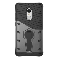 Tuff-Luv Tough Armor Combination Case with Holder for Xiaomi Redmi Note 4 - Black Photo