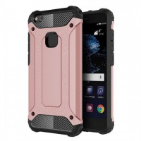 Tuff-Luv Armor Combination Case For Huawei P10 Lite - Rose Gold Photo