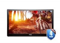 """AOC E1659FWU 15.6"""" Portable USB LED Monitor LCD Monitor Photo"""