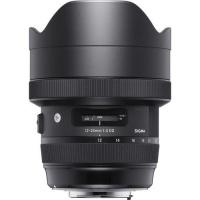 Canon Sigma 12-24 F4 DG HSM Art Lense for - Black DG Full Frame Photo