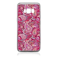 Samsung Hey Casey! Pink Paisley Phone Cover for Galaxy S8 Plus Photo