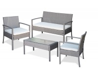Fine Living - 4 Piece Rattan Miami Set Photo