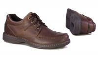 Hush Puppies Randall Chestnut Men's Casual Lace Up - Brown Photo