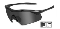 Wiley X Vapor Multi Lens Glasses with Matte Black Frame Photo