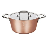 Berlinger Haus Marble Coating Casserole with Lid 20cm - Bronze Titan Collection Photo