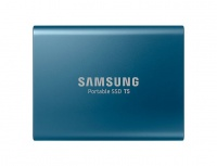 Samsung T5 Portable 500GB Solid State Drive - Blue Photo