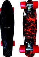Surge Manic Icon Skateboard - Black Photo