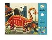 Djeco Dinosaurs Mosaics Craft Set Photo