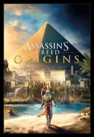 Assassins Creed Origins - Cover Poster with Black Frame Photo
