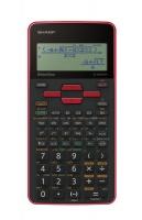 Sharp EL-W535SA Red Writeview Scientific Calculator Photo