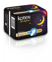Kotex All Nighter Maxi Pads - 8's Photo