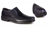Hush Puppies Men's Rainmaker Slip-On Shoes - Black Photo