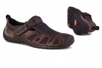 Hush Puppies Men's Nebula Sandalised Shoes - Brown Photo