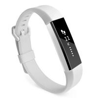 Tuff Luv Tuff-Luv Silicone Strap Band for the Fitbit Alta / Alta HR - White Photo