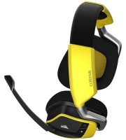 Corsair Void Pro RGB Wireless Gaming Headset With Dolby 7.1 - Yellow Photo