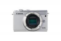 Canon EOS M100 Mirrorless Camera Body Only - White Photo