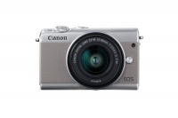 Canon EOS M100 Mirrorless Camera with 15-45mm Lens - Grey Photo