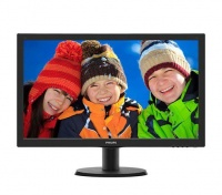 """Philips 243V5QHABA 23.6"""" FHD LED Monitor w/Speakers Photo"""