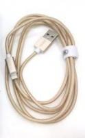 "Unitek 1.5m 2"" 1 Micro & Lightning Cable - Gold Photo"