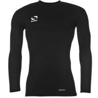 Sondico Men's Base Core Long Sleeve Base Layer - Black Photo