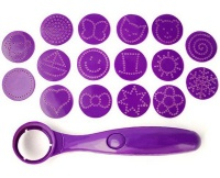 Food Decorator Spoon - Purple Photo