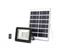 10W Solar LED Floodlight with Remote Control Photo