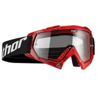 Thor Enemy Tread Goggles - Red Photo