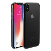 Just Mobile Tenc Self-Healing Case for iPhone X - C/Clear Photo