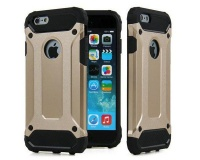 Shockproof Protective Armor Case for iPhone SE 5S & 5 - Gold Photo