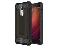 Shockproof Protective Armor Case for Xiaomi Redmi Note 4 & Note 4X - Black Photo