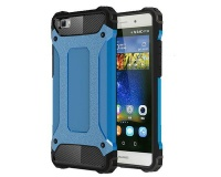 Shockproof Protective Armor Case for Huawei P8 Lite - Blue Photo