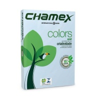 Chamex : A4 Tinted Colour Paper - Blue - Ream Photo