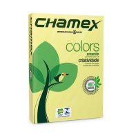Chamex: A4 Tinted Colour Paper - Yellow - Ream Photo