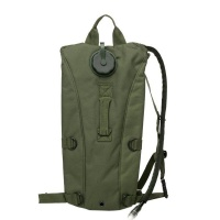 Hydration Pack with 2.5L Water Bladder - Army Green Photo