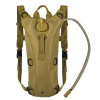 Hydration Pack with 2.5L Water Bladder - Tan Photo