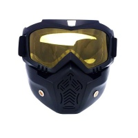 Detachable Motorcycle Goggles Photo