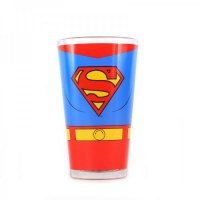 Superman: Costume Glass Photo