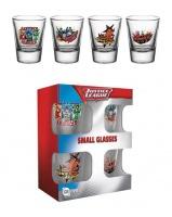 DC Comics: Justice League Characters Shot Glasses Set Photo