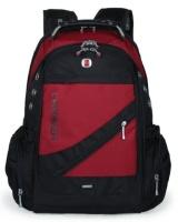 Charmza Laptop Bag - Red & Black Photo