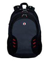 Charmza Laptop Bag - Grey & Black Photo