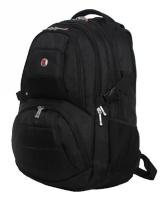 Charmza Venture Laptop Backpack - Black Photo