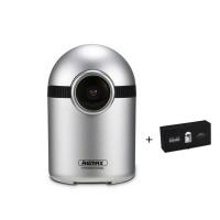 Remax CX-04 Full HD Night Vision Camera with Box - Silver Photo