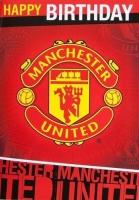Manchester United Music Birthday Card Photo