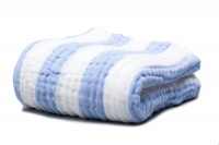 Fox Fable 6 Layer Dream Blanket - Blue Photo