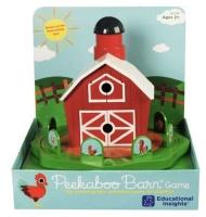 Learning Resources Peekaboo Barn Game Photo