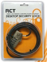 RCT Desktop Security 4 Digit Combo Number Lock Photo