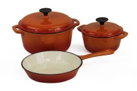 Fine Living - Lifestyle Cast Iron Cookware - Set of 5 Photo