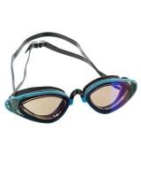 Adult Aqualine Helix Swim Goggles - Blue Photo