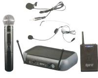 Hybrid Dual UHF Microphone Headset System Photo